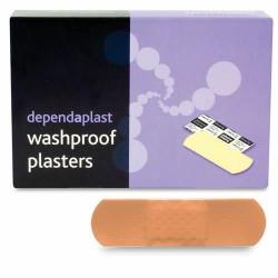washproof plasters 7.5cm x 2.5cmx 100