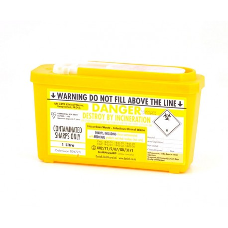 Medical Sharps Bin