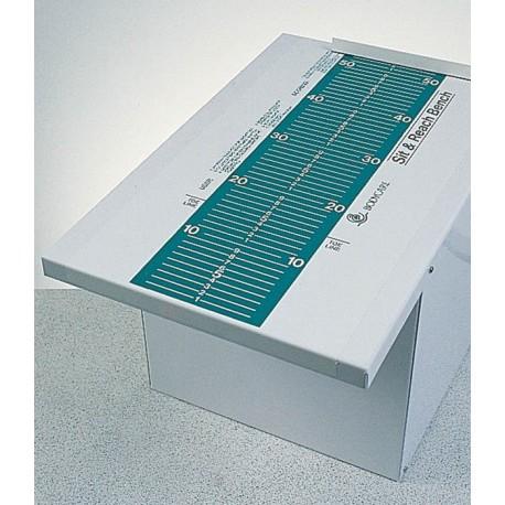 Sit & Reach box with colour grading scale (30cm)